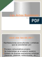 Las Artes Escénicas(1)