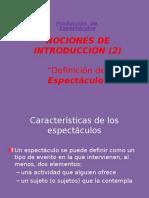 Intro - Definición de Espectáculo(1)