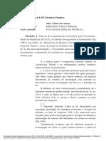 Decisão Liminar Contra Eduardo Cunha