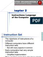 Chapter 02 Computer Organization and Design, Fifth Edition