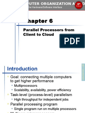 Chapter 06 Computer Organization and Design, Fifth Edition