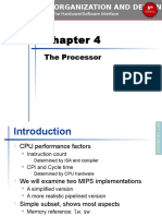 Chapter 04 Computer Organization and Design, Fifth Edition