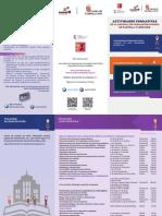 Tríptico Informacion Actividades Formativas 2016