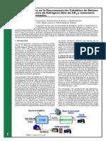 descomposicion cataliticas del metano