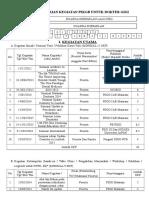 Borang Penilaian Kegiatan p3kgb Untuk Dokter Gigi