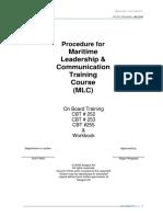 Maritime Leadership and Communication- MLC