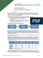 NetAcad Instructor - Pre-Paid Vouchers June15