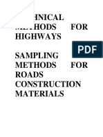 Technical Methods for Highway