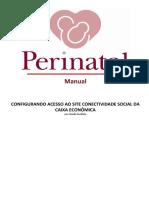 Configurando Acesso Site Conectividade Social CAIXA ECONÔMICA