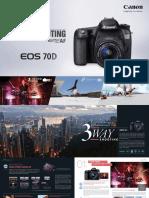 EOS 70D Brochure