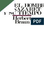 Braun Herbert - Jesus El Hombre de Nazaret Y Su Tiempo[1]
