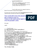 Chain letter e-mails (in reverse chronology) in which Frank Hu, Miguel Ángel Martínez González, and Angeliki Papadaki encourage colleagues to sign CSPI request to BMJ to retract critique by author/journalist Nina Teicholz of 2015 US Dietary Guidelines Advisory Committee (of which Hu was a member)
