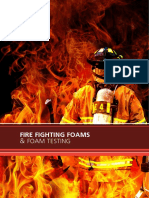 Foam Testing Fire Fighting Foams Brochure