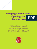 Studying Social Circus
