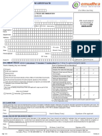 Emudhra Application Form Dgft