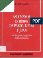 Arens Juan - Asia Menor en Tiempos de Pablo Lucas Y Juan (Scan)[1]