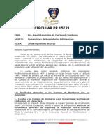Circular PR 15-21 Inspecciones de Seguridad en Edificios
