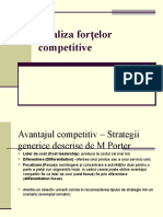Analiza Forţelor Competitive
