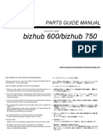 Guia de Partes BH750