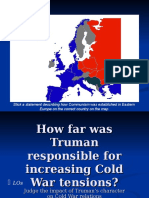 Truman Doctrine & Marshall Aid - General Ppt. Presentation, Extra Copy