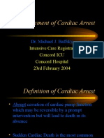 Management of Cardiac Arrest