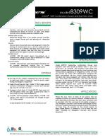 Haws Model 8309wc Specsheet PDF