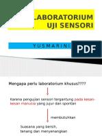 LABORATORIUM evaluasi sensori