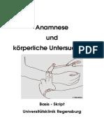 Basis Skript Untersuchung - Anamnese Deutsch