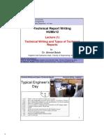 Technical Writing PW Lec. 1 Handouts