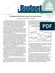 Do Budget Deficits Raise Long-Term Interest Rates?, Cato Tax & Budget Bulletin