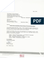 Public Notice for De-listing [Company Update]