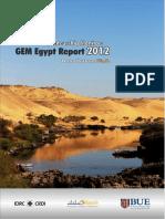 Global Entrepreneurship Monitor Report 2012