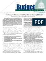 Combining Tax Reform and Health Care Reform with Large HSAs, Cato Tax & Budget Bulletin
