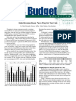 State Revenue Boom Paves Way for Tax Cuts, Cato Tax & Budget Bulletin