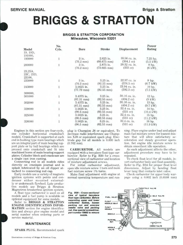 60583327 Briggs Stratton | Ignition System | Piston