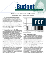 State and Local Government Debt Is Soaring, Cato Tax & Budget Bulletin