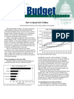 How to Spend $2.8 Trillion, Cato Tax & Budget Bulletin
