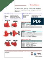 HYD Vlv, Fire Hose, HR & Breeching - Export2014