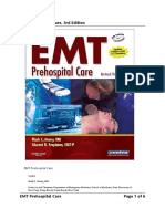 EMT Prehospital Care 3rd Edition