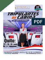 Programa Tripulantes de Cabina de Vuelo Teorico Practico Virtual- Junio 2016