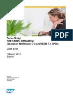 BPM-MDM Demo Script