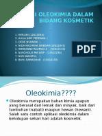 Aplikasi Oleokimia Dalam Bidang Kosmetik
