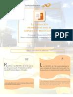 Financiación de La Formación 2015