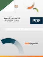 InfoVista Xeus Express 5 Installation Guide