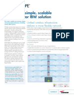 Simple Scalable Multi-operator IBW Solution