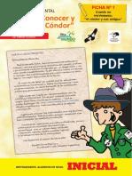 Proyecto Ambiental-Vida Silvestre-Condor Andino-Inicial I