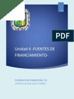 Trabajo Planeacion Financiera