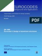 Exposicion Sobre Eurocode 9_Design of Aluminium Structures (en 1999)