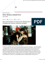 How Fiction Ruined Love