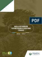 plan hacia la restauración y reforestacón de ecosistemas y paisajes El SALVADOR